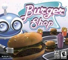 BURGER SHOP  Build Your Fast Food Empire  New Sealed  Win XP Vista 7 8 10  MAC