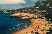 1950 La Jolla Beach California San Diego Beautiful Coastline Roberts 1766