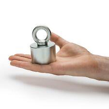 55mm x 40mm Neodymium Recovery Magnet Metal Detector Treasure Hunting 200kg Pull