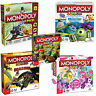 Monopoly Junior Board Game Monsters & Disney Planes