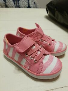 Keds Rally K Girls Sneakers Coral Pink infant toddler sz. 5.5 CUTE!!!