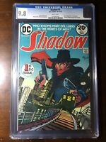 Shadow #1 (1973) - 1st DC Shadow!! - CGC 9.8!! - Key! - White Pages!