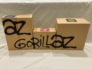 ORIGINAL PACKAGING Kidrobot Gorillaz 2-D Black Edition Jamie Hewlett 2005