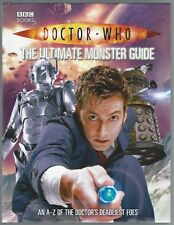 Doctor Who: The Ultimate Monster Guide Justin Richards 2009 1st Edition Good+