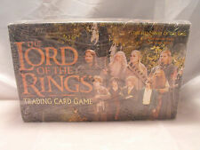 LORD OF THE RINGS TCG FELLOWSHIP OF THE RING COMPLETE SEALED BOX OF 36 BOOSTERS