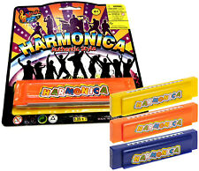 HARMONICA MOUTH ORGAN TOY KIDS BOYS GIRLS MUSICAL GIFT CHRISTMAS STOCKING FILLER
