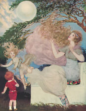 Willy Pogany 1916 Color Illustrated Nursery Book Sara Cone Bryant