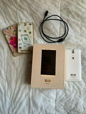 Elephone P8000 phone accessories: charger, box and covers (phone NOT included)