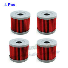 4 Pcs Oil Filter Lifan Zongshen Loncin CB250 150cc 200cc 250cc Pit Dirt Bike ATV