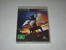 Formula 1 2010 - VGC - PAL - PlayStation 3 - PS3 - Game + Booklet