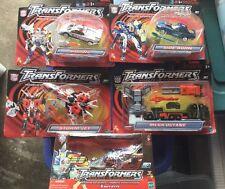 HUGE Sky-byte Storm Jet Mega-Octane Prowl Sideburn Transformers RID Hasbro LOT