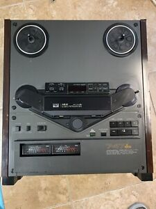 Akai gx 747 DBX reel to reel player Works - All Needed Job Was Done!
