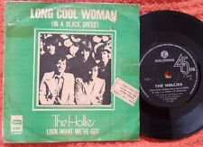 """THE HOLLIES - Long Cool Woman RARE ISRAEL 7"""" 45 HEBREW PS"""