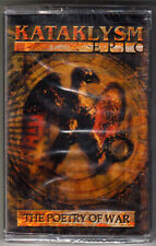 KATAKLYSM - Epic: The Poetry of War Rare Cassette Sealed 2002 Psychic Scream