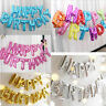 NEW LARGE HAPPY BIRTHDAY SELF INFLATING BALLOON BANNER BUNTING PARTY DECORATION