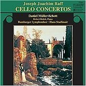 Müller-Schott Daniel : Raff: Cello Concertos CD Expertly Refurbished Product
