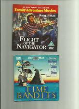 FLIGHT OF THE NAVIGATOR (1985) & TIME BANDITS (1981) PROMO DVDS