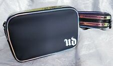 Urban Decay Black Iridescent Makeup fanny Pack Cosmetic Travel Belt Bag Pouch
