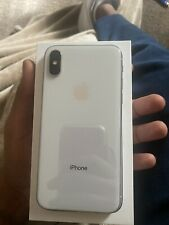 Apple iPhone X - 64GB - White (AT&T) A1901 (GSM)