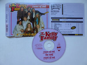 THE KELLY FAMILY * Roses Of Red * VG+ (SINGLE-CD)