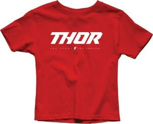 Thor Youth Loud 2 Red T-Shirt size X-Large