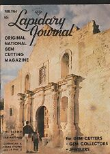 Lapidary Journal,Feb.1964 Issue