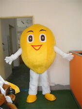 Cartoon Fruit Festival Lemon Mascot Costume Outfit Fancy Dress Adult Parade Suit
