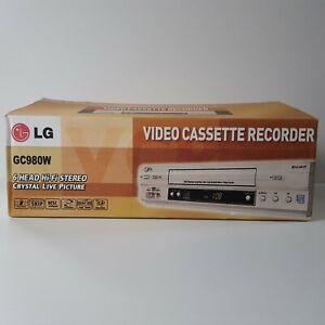 LG GC980W Video Cassette Recorder VCR 6 Head Hi-Fi Stereo