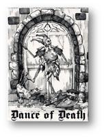 Danza Of Morte Carte da Gioco Poker Carte da Gioco Cardistry