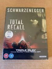 TOTAL RECALL (1990) BLU RAY STEELBOOK NEW & SEALED ARNOLD SCHWARZENEGGER SCI-FI