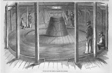 ATLANTIC TELEGRAPH CABLE 1858 PAYING OUT THE CABLE ON BOARD THE SHIP NIAGARA