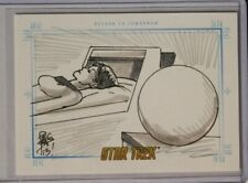 2014 Star Trek TOS Portfolio Prints SketchaFEX Sketch Card Return to Tomorrow