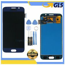 DISPLAY LCD PER SAMSUNG GALAXY S6 G920 SM-G920F BLU TOUCH SCREEN RETINA SCHERMO