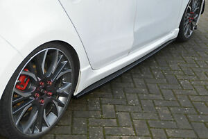 CUPSeitenschweller aus ABS für Seat Leon 5F Facelift FR Cupra R ST 5Türer