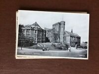 f1e postcard unused old the university sheffield