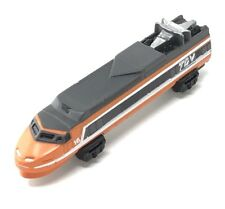 Micro Machines 1970's TGV Eurail France Bullet Train Engine Orange En Voyage #16
