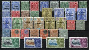 Malta Lot ab 1902-1935 **, Inhalt siehe Scan