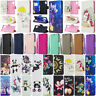 For Samsung Galaxy Note 10 Plus Flip Magnetic Painted Leather Wallet Case Cover