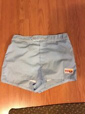 Vintage Balboa Mens Swim Trunks Board Track Running Funny Gym Shorts Blue M