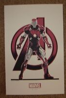 THE AVENGERS handbill poster IRON MAN Variant art print Matt Ferguson
