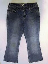 Cecil Danah Jeans Hose Schlaghose Blau Stonewashed W31 L32