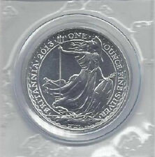 2013 Britannia £2 One-Ounce .999 Pure Silver