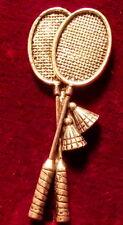 qualità PELTRO Badminton Racchette Volano SPILLA PIN FIRMATO