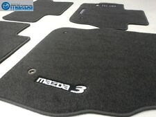 Mazda 3 2010-2013 New OEM black carpeted floor mats 0000-8B-L65