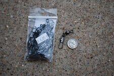 Bag 25 Crane Swivel Interlock Snap Black Size # 3 Fish Tackle