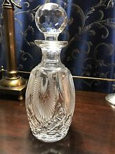 Waterford Giftware Feather Etched Decanter