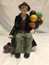 Royal Doulton Figurine The Balloon Man Hn 1954 Collectible Figurine Mint