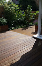 Bangkirai 2,95€ 25x145mm Riffelbohlen Terrassendielen Balkon Garten  No.183