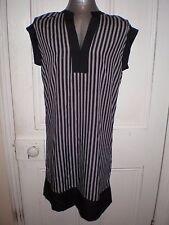 BNWT Target Collection size 10 Military chevron black stripe dress in EC RRP $45