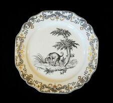 Beautiful Mottahedeh Du Paquier Vista Alegre, 1730 - 1740, Dog Plate